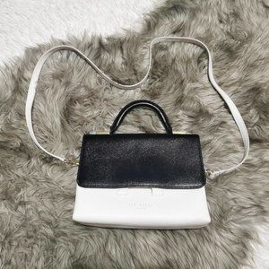 Ted Baker Satchel Crossbody Leather Bag